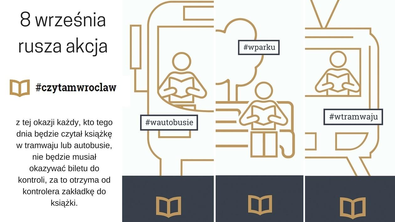 Komunikacja miejska za darmo dla czytających książkę w tramwaju/autobusie