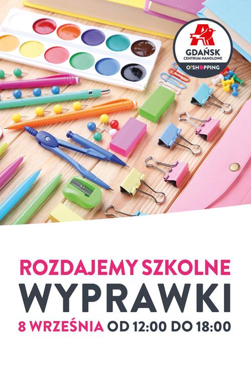 Darmowa szkolna wyprawka za zakupy @Gdańsk Centrum Handlowe