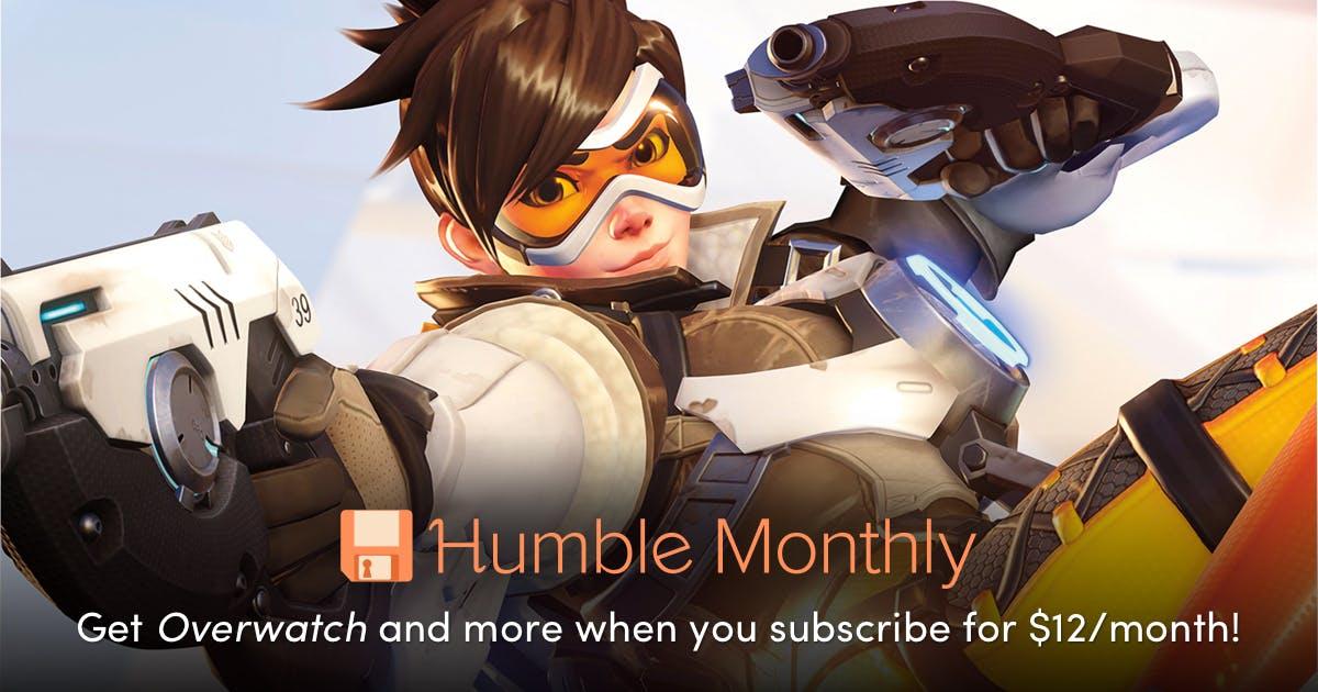 OVERWATCH Zapowiedz Humble monthly na październik