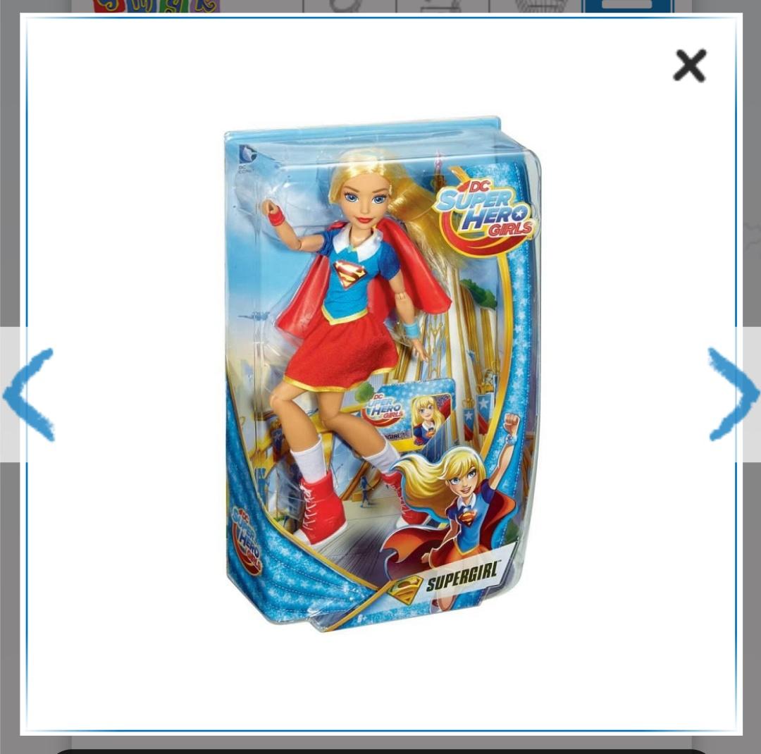 DC supergirl lalka