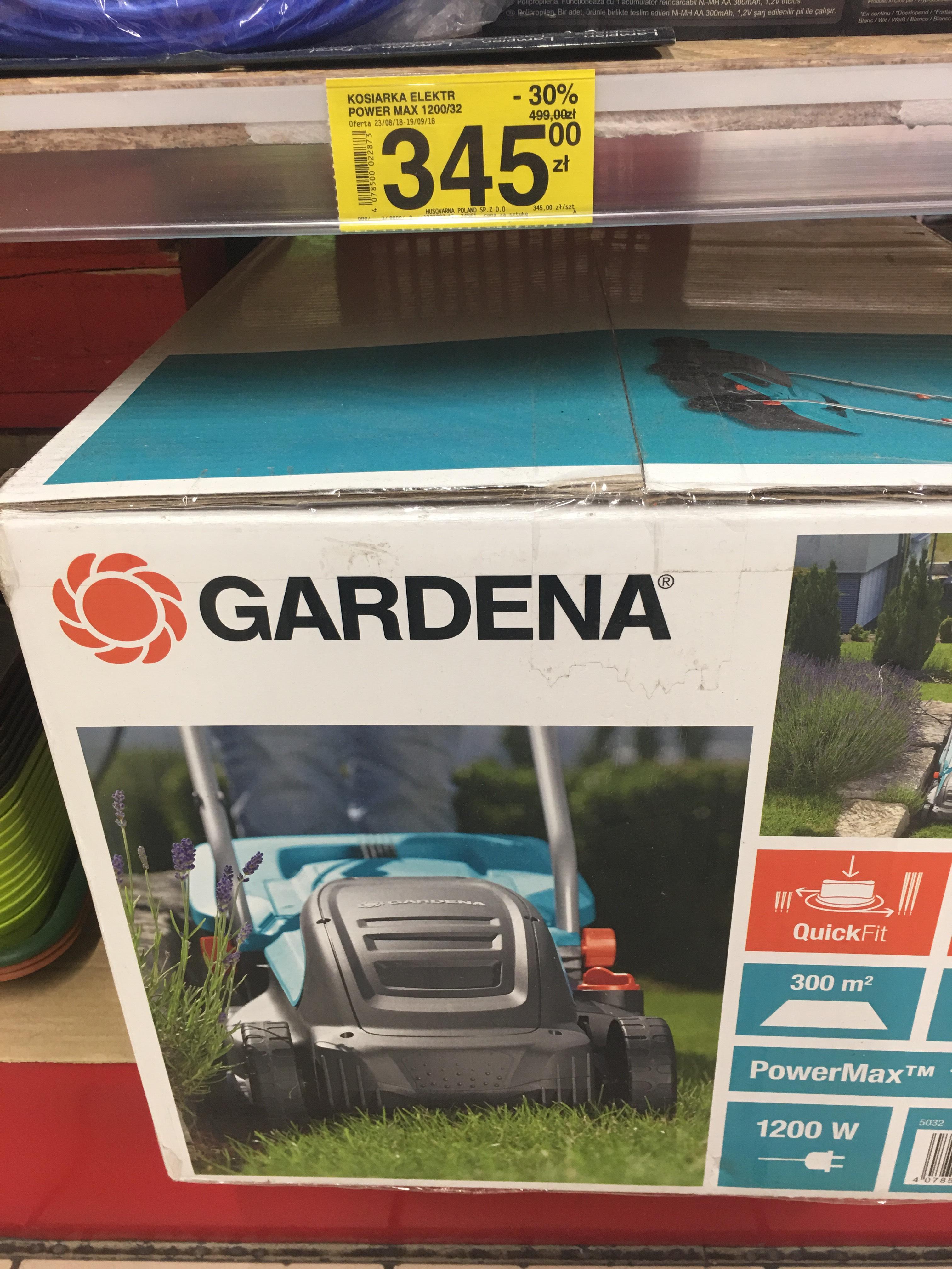 Kosiarka Gardena PowerMax 32 E
