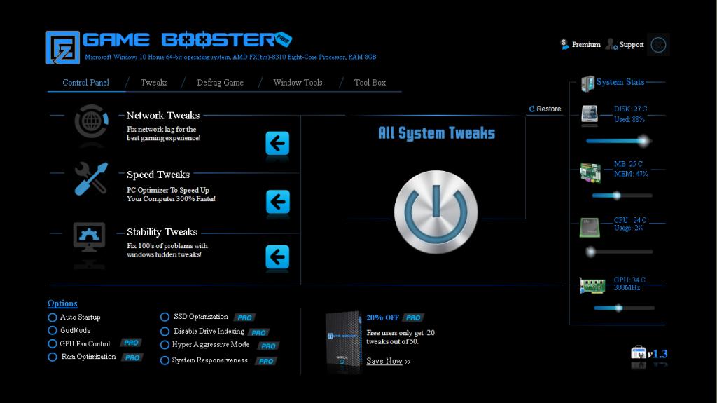 EZ Game Booster Pro za Free