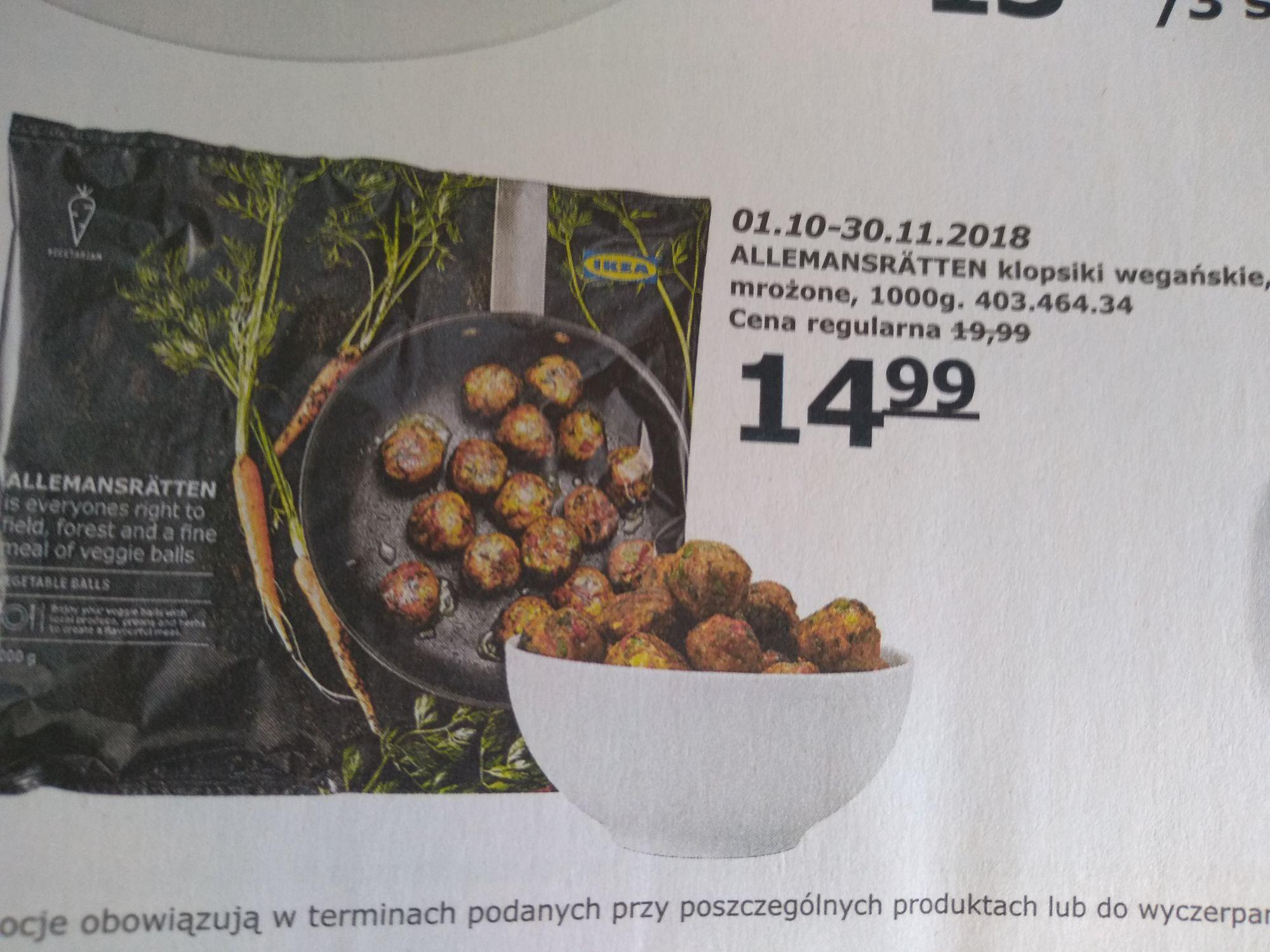 Klopsiki mrożone IKEA 1000g