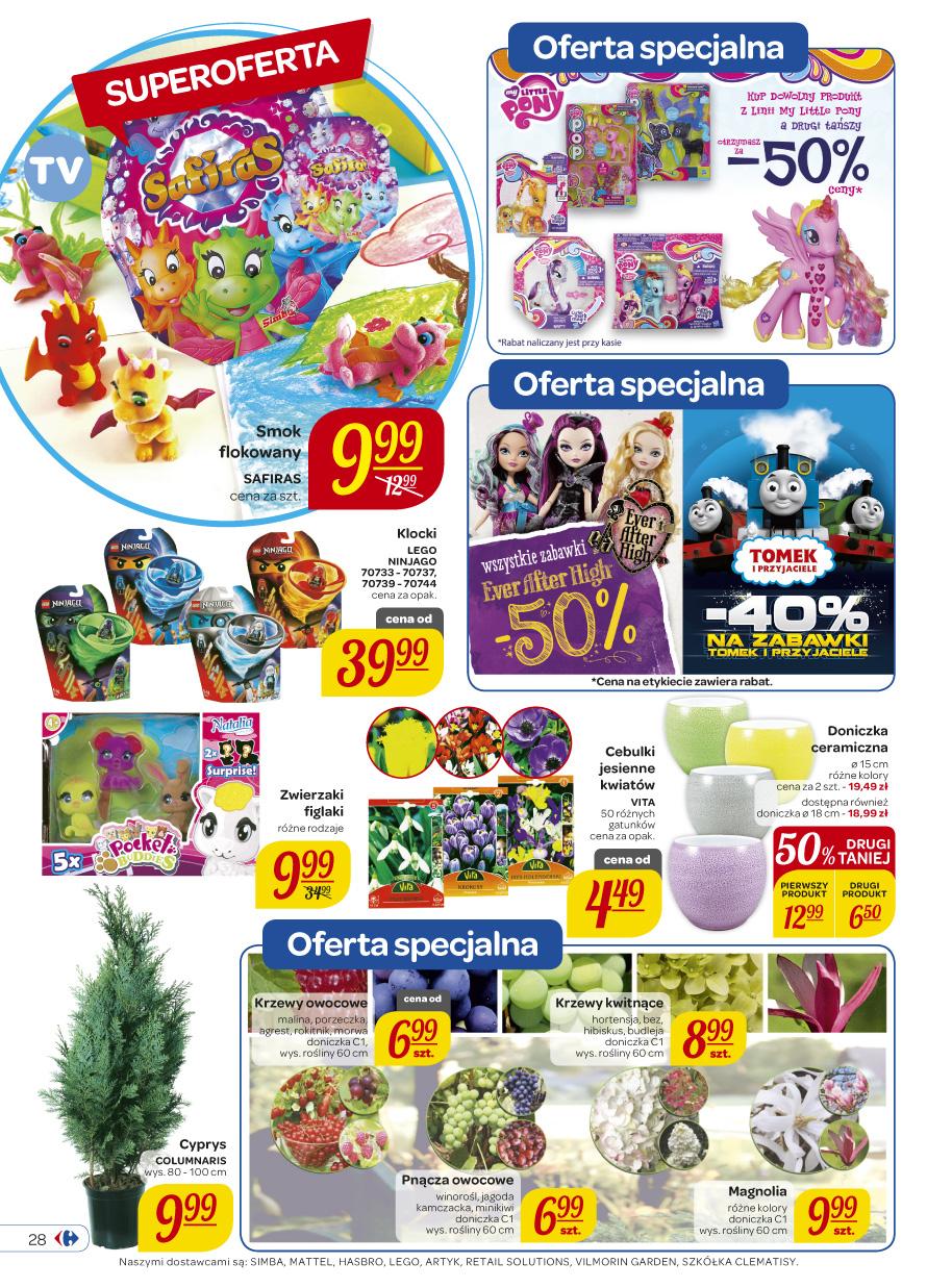 -50% na wybrane zabawki @ Carrefour