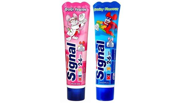 Szczoteczka do zębów dla dzieci gratis przy zakupie 2 past Signal @ Intermarche