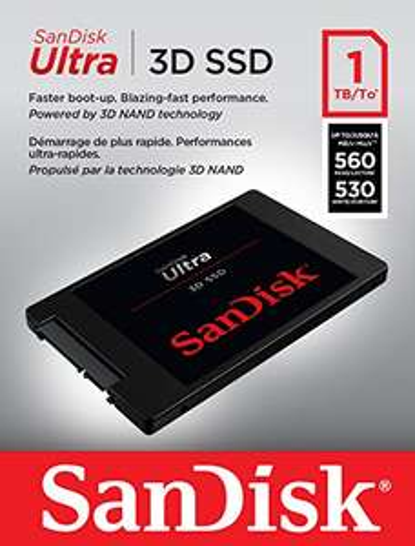 Rekordowo tani 1TB SSD Sandisk