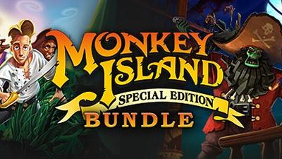 Monkey Island Bundle za ~16zł, LucasArts Adventure Pack za ~11zł (PC,Steam) @ Fanatical