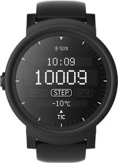 Ticwatch E lub S smartwatch