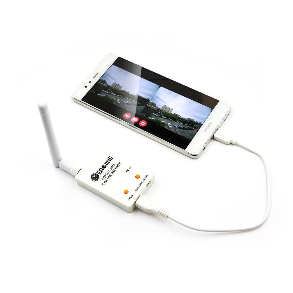 Odbiornik FPV do smartfona Eachine ROTG01 Pro UVC OTG 5.8G