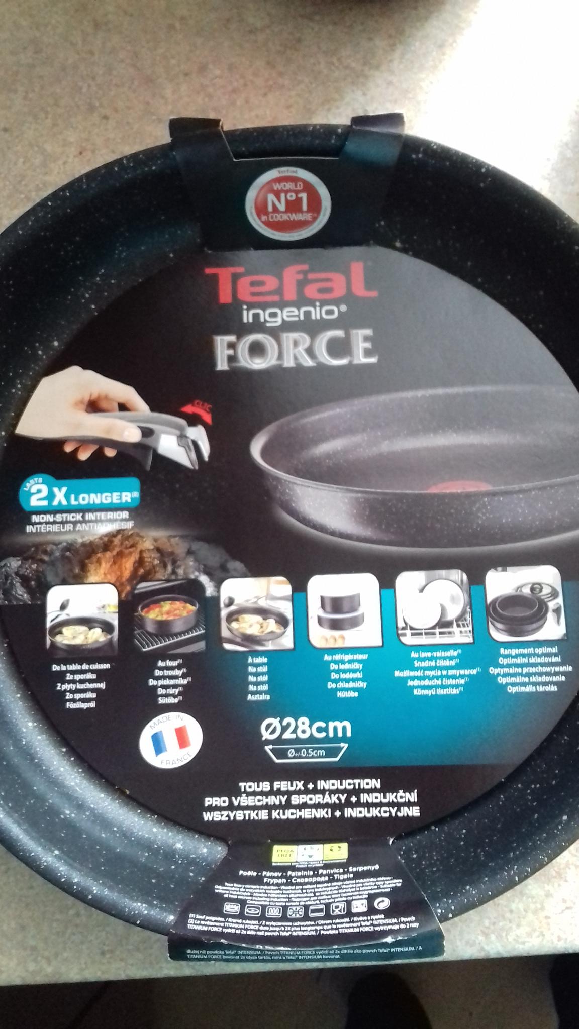 Tesco - patelnie Tefal Ingenio Force