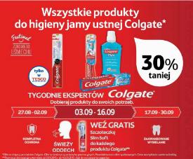 30% rabatu na produkty Colgate + szczoteczka GRATIS @ Tesco