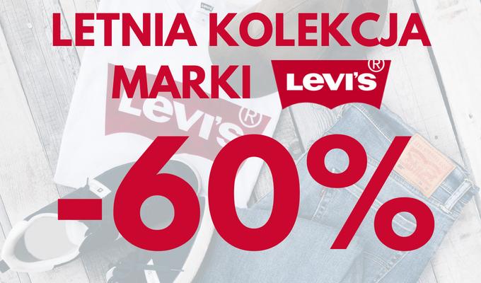 Letnia kolekcja marki Levi's -60%