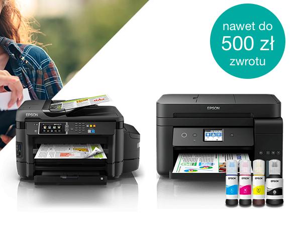 Epson cashback do 500 pln za zakup drukarek