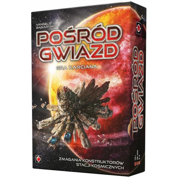 Gra karciana Pośród Gwiazd - polska edycja gry Among the Stars