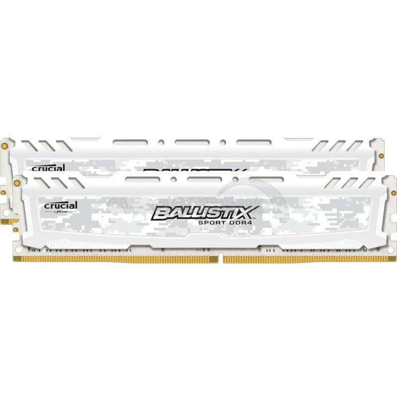 RAM Crucial Ballistix Sport LT DDR4, 32GB (2x16GB), 2666MHz, CL16