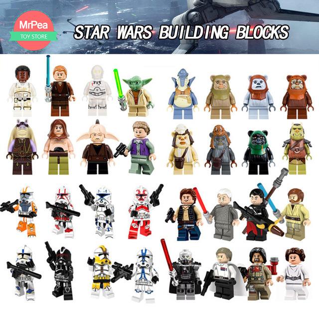 Figurki Star Wars kompatybilne z LEGO 0,65$