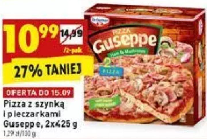 2x pizza Guseppe oraz promo na pizzę Donatello @ Biedronka