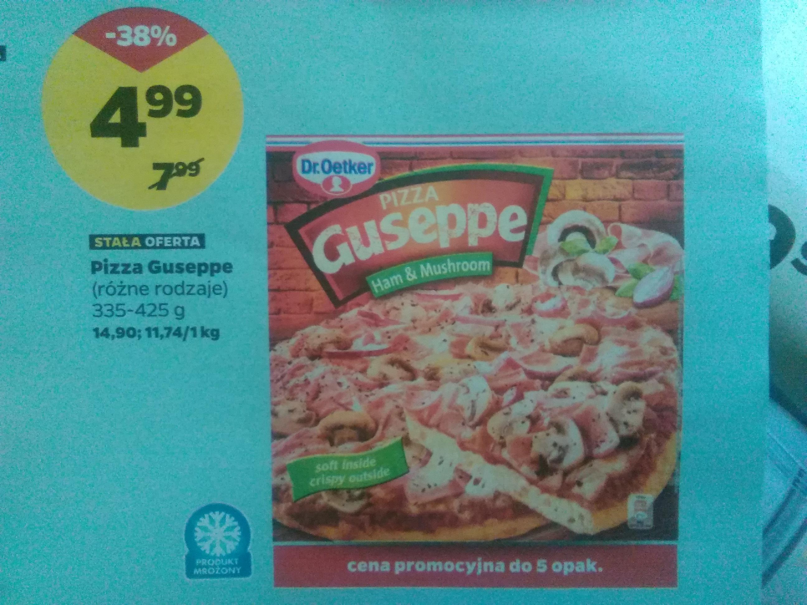 Netto: pizza Giuseppe 4,99zl (*20-23.09), masło łaciate 4,99zł, ser sokol2x250g-6,99zl, banany 2,79zl inne.