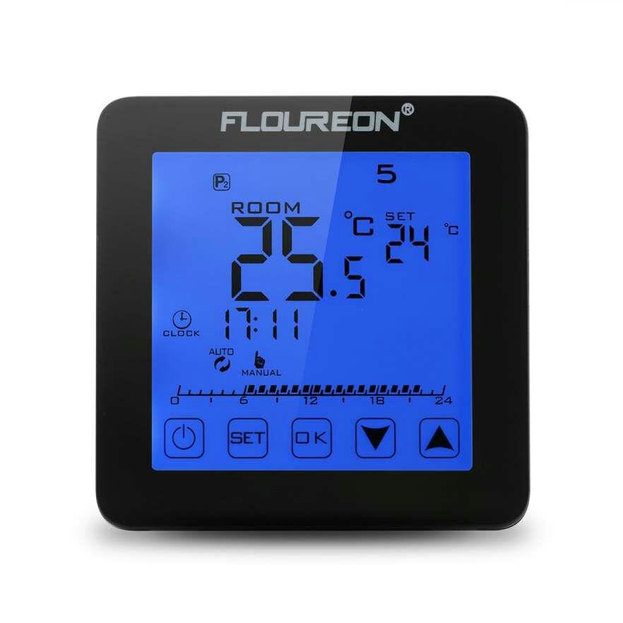 Termostat Floureon HY08WE-1 z wysyłką z UK za $8.99 / ~34złz kodem DSDLSEP21