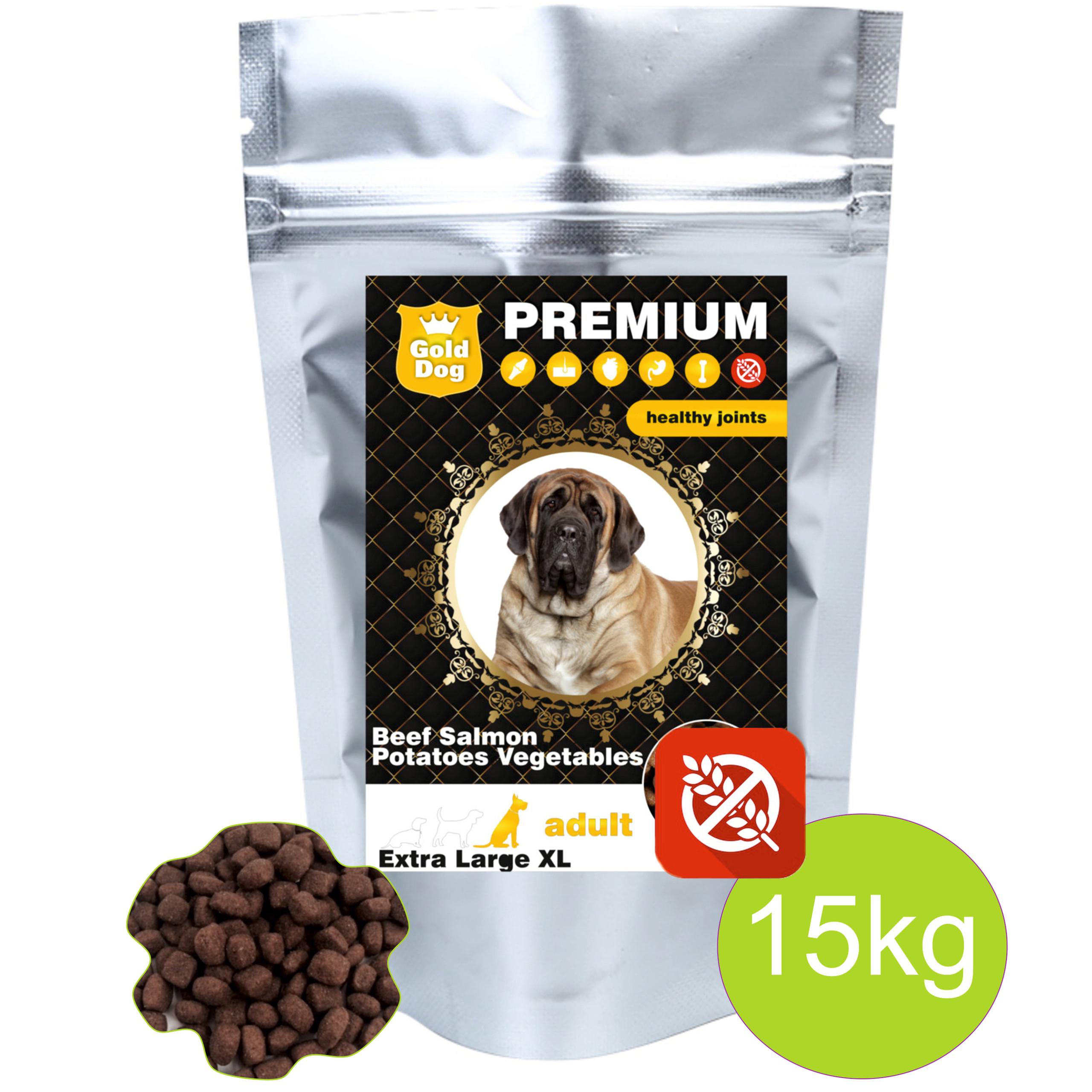 Karma bezzbożowa Gold Dog Grain Free dla Psa 15kg Owczarek Labrador