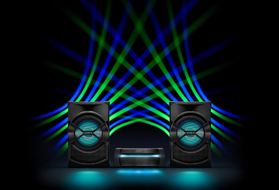 POWER AUDIO SONY SHAKE X30PN