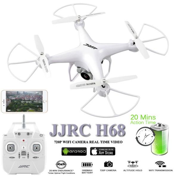 Dron JJRC H68 Bellweather z Chin lub Czech [kilka opcji]