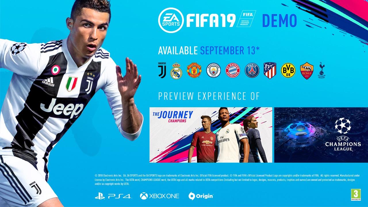 Fifa 19 Demo już dziś na  PC, PlayStation 4 oraz Xbox One