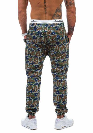 Spodnie jeansowe joggery męskie