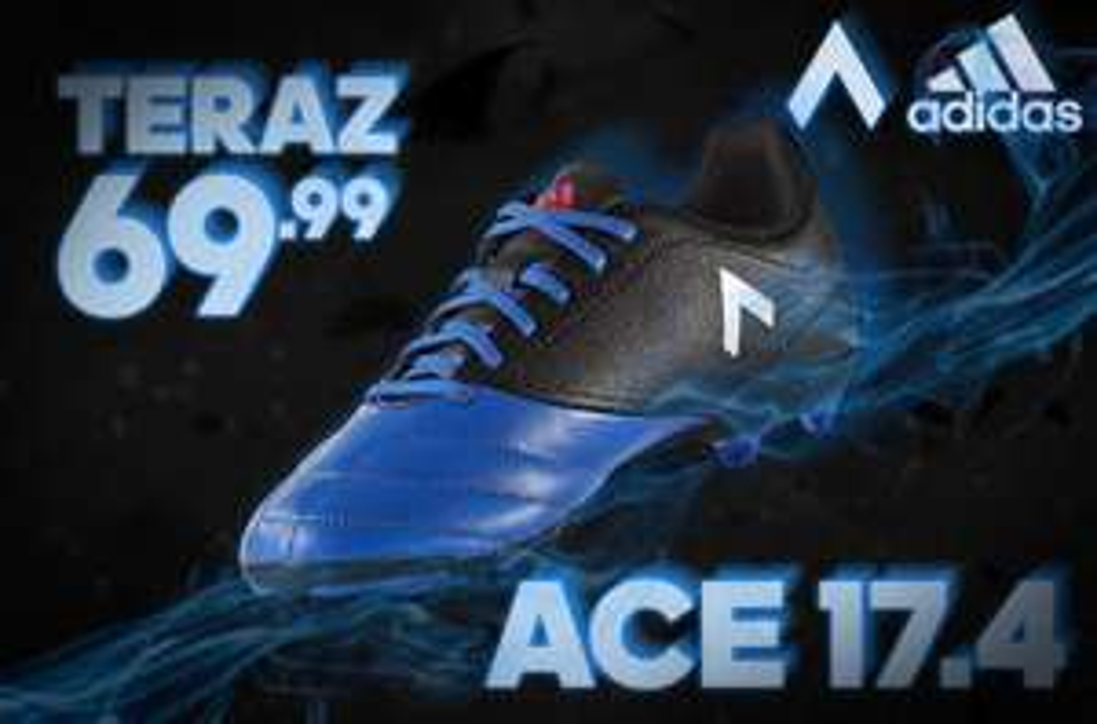 adidas ACE 17.4 FxG Junior - na naturalną i sztuczną murawę z marionex.pl