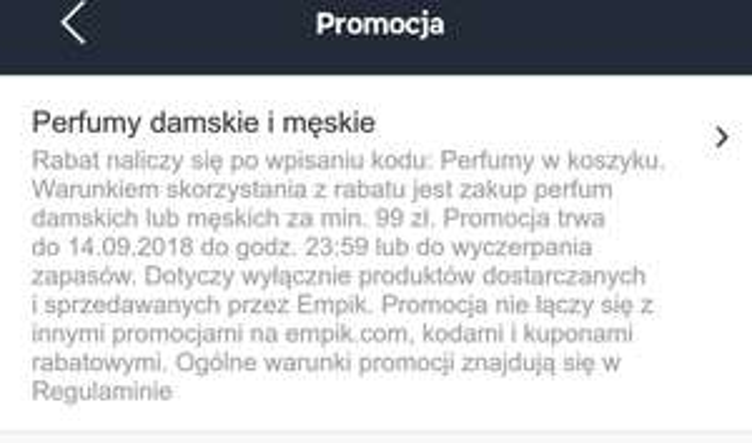 -10% na perfumy empik.com/MWZ99