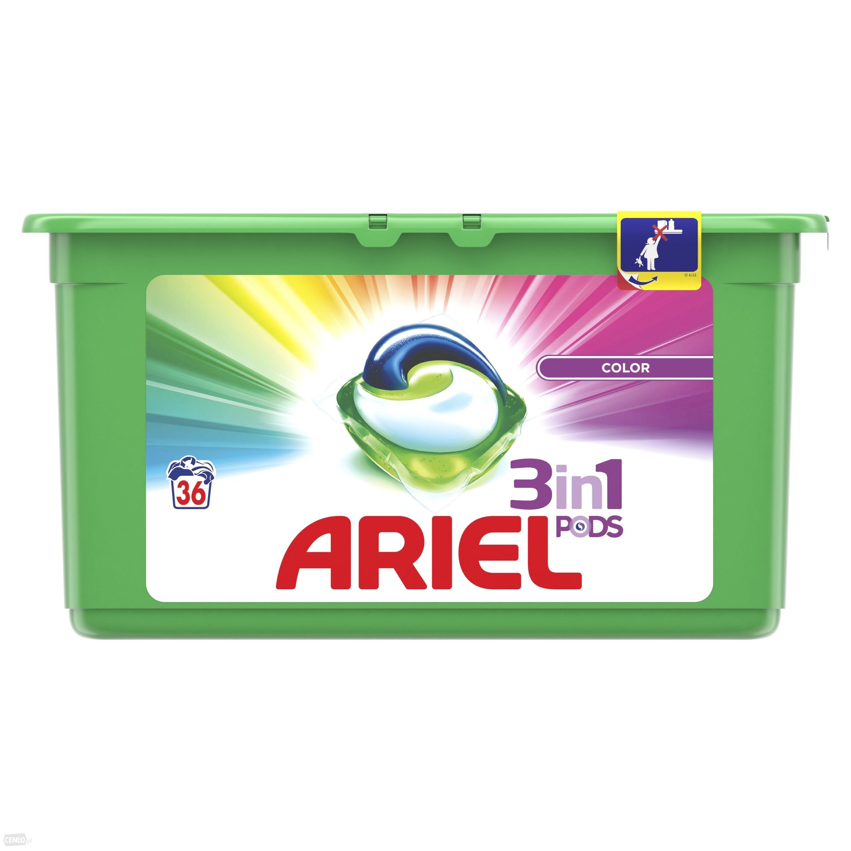 Kapsułki Ariel 36 szt(0,7zł/szt) Biedronka