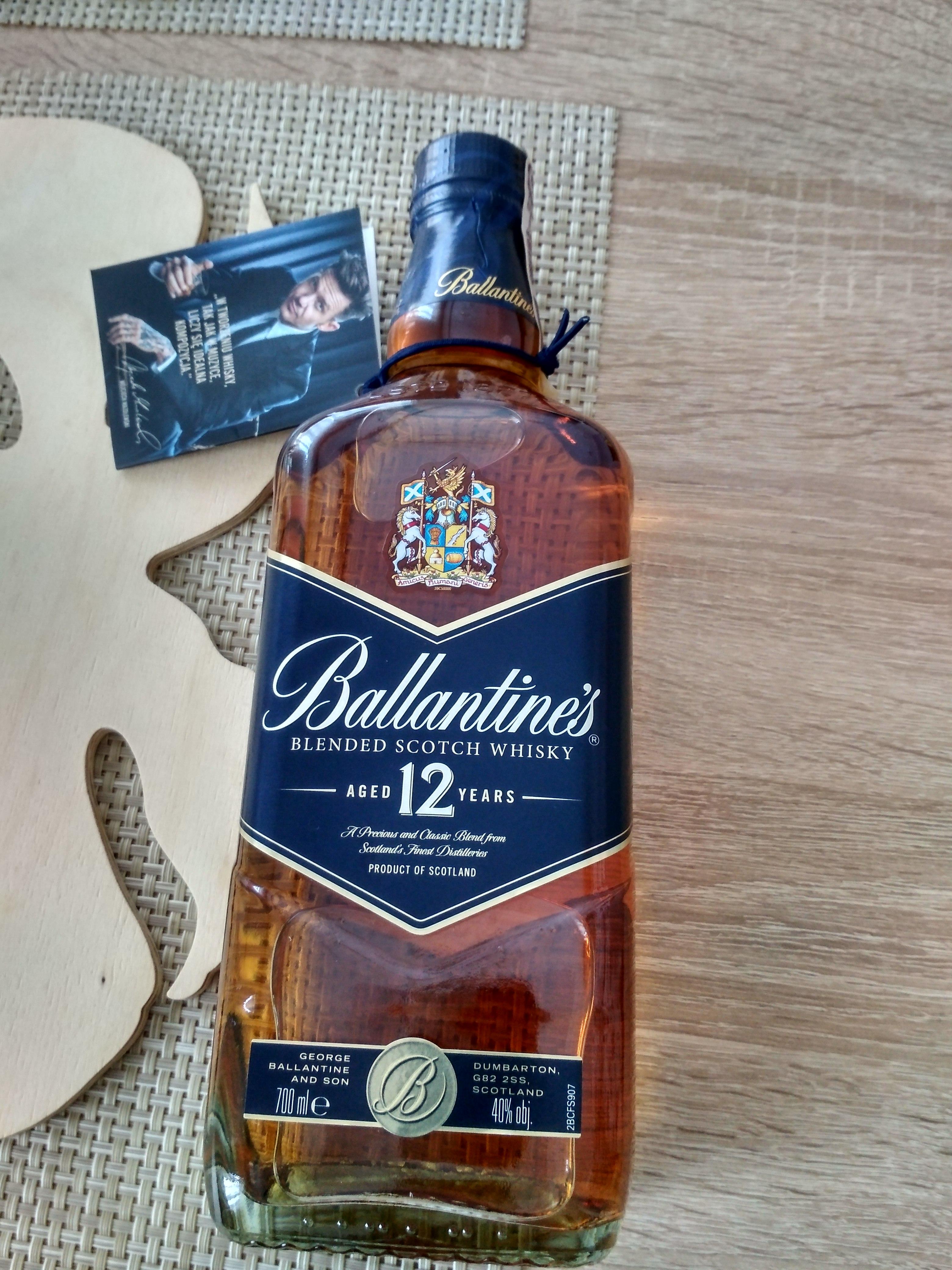 WHISKY BALLANTINE'S 12YO 0.7l Selgros 59.03zł