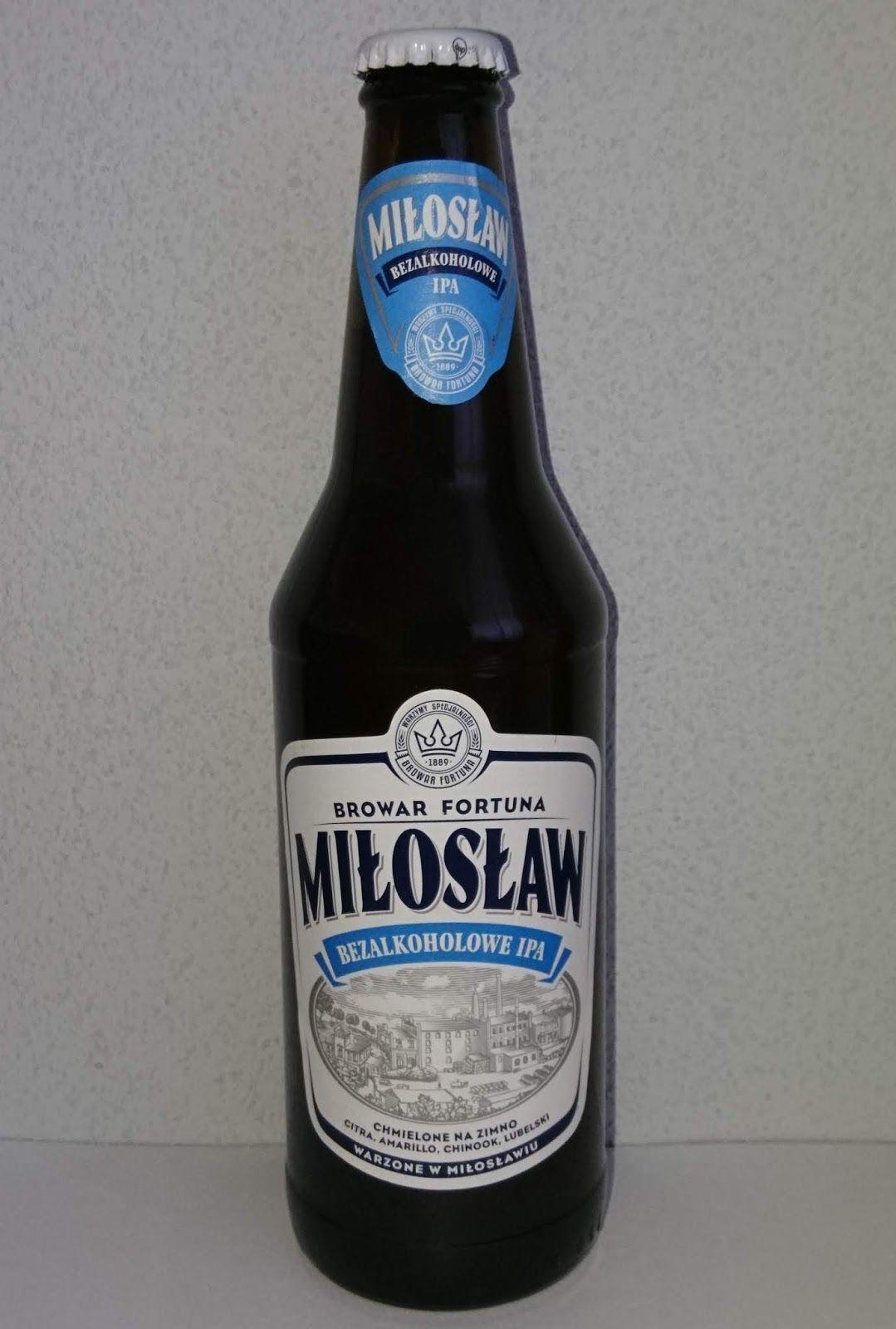 Piwo Miłosław Bezalkoholowy Tesco