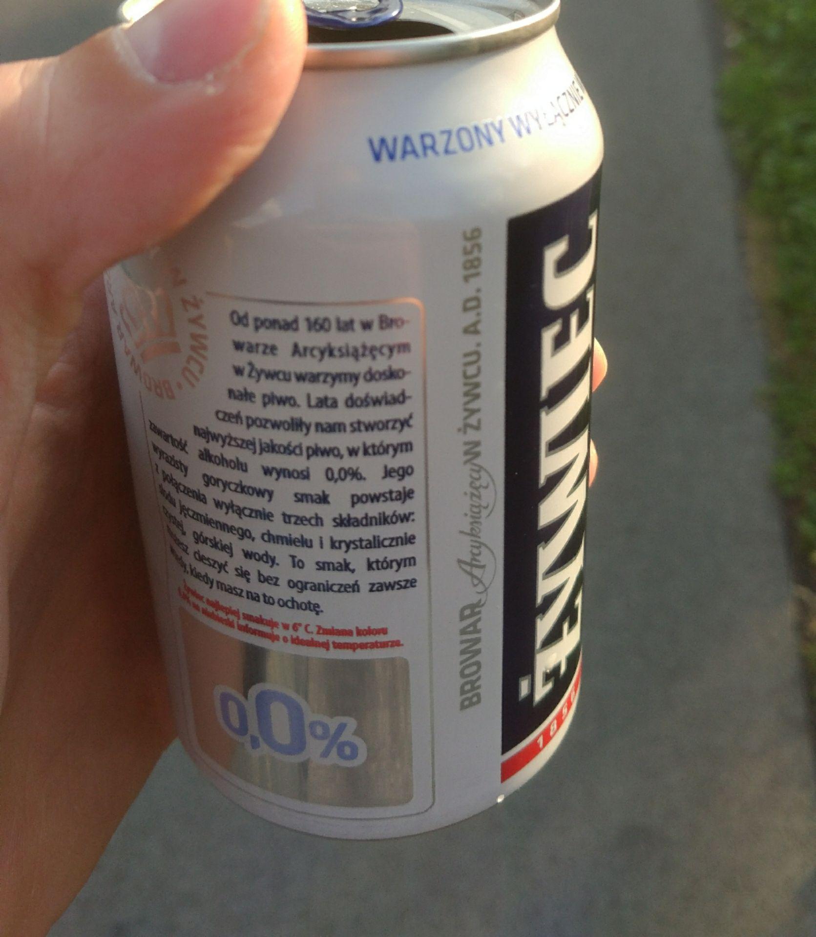 Żywiec piwo bezalkoholowe