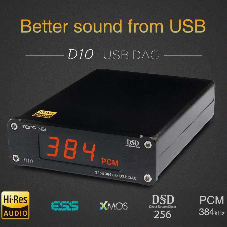 Topping D10 DAC głośnikowy - doskonałe parametry, sprawdzona firma