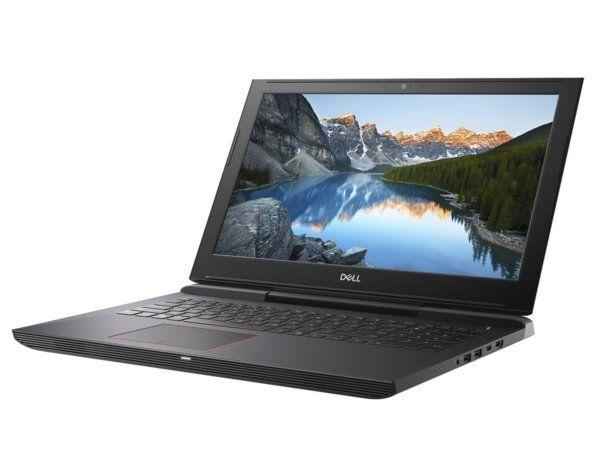 Laptop DELL Inspiron 15 7577 i7-7700HQ/8GB/1TB HDD +128GB SSD/GTX1050Ti/Win10 [MediaMarkt]