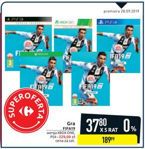 Fifa 19 PC / XBOX 360 / PS3 @Carrefour