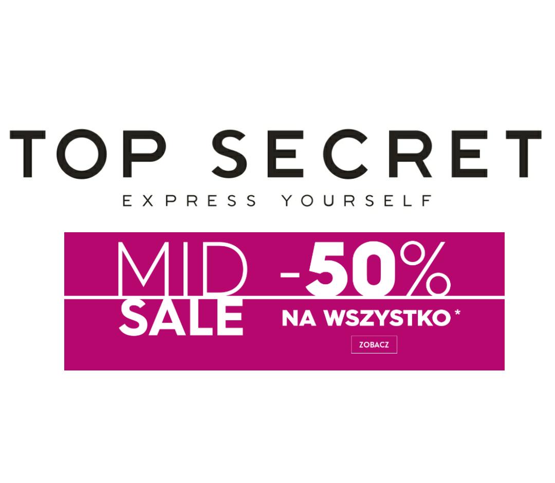 -50% na wybrane artykuły @Top Secret
