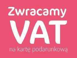 Zwrot VATu na kartę podarunkową @ Agata Meble