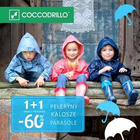 Drugi produkt taniej o -60% @ Coccodrillo