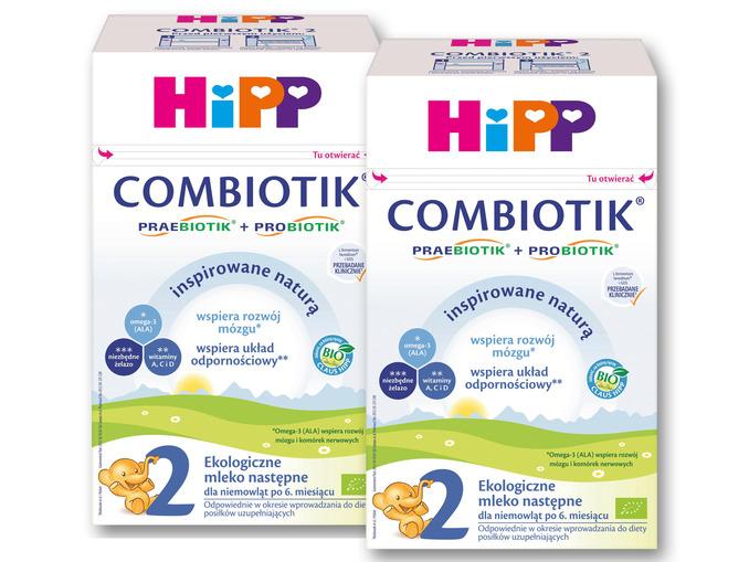 Mleko HIPP Combiotik 600g za 29,99zł (przy zakupie 2szt.) @ Lidl