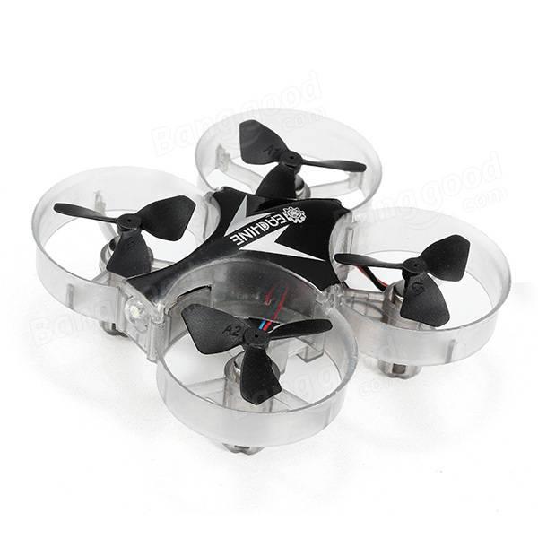 Mini Dronik Eachine E012 wersja tańsza bez i droższa z kamerką i utrzymaniem wysokości