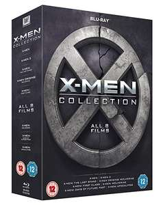 X-Men Collection (Blu-ray) za ok. 79zł @ Amazon.uk