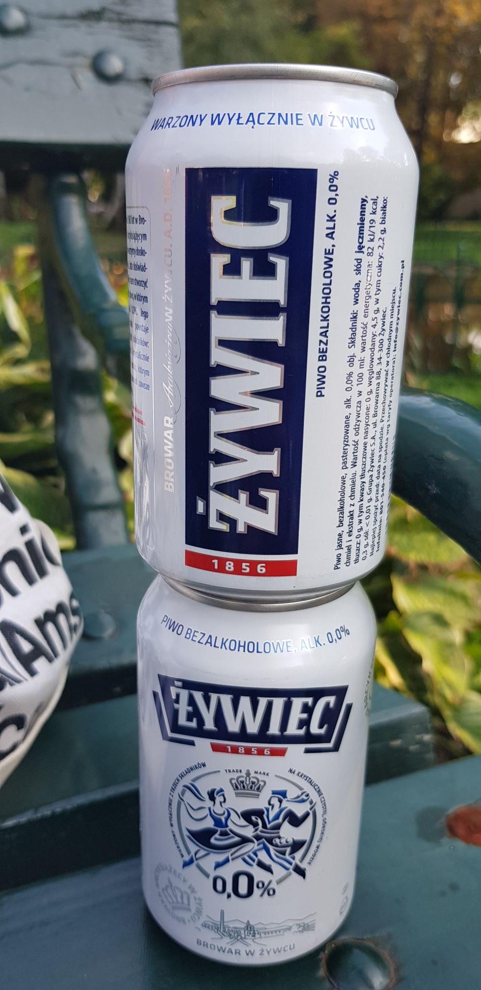 """Darmowe """"piwo"""" Żywiec 0,0%"""