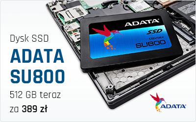 ADATA SU800 - Kolejny dysk SSD w dobrej cenie tym razem 512 GB !