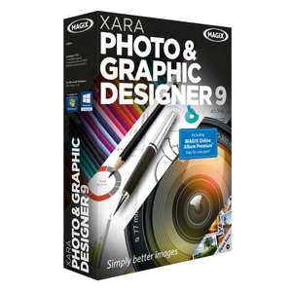 Xara Photo & Graphic Designer 9 za darmo @ Shareware On Sale