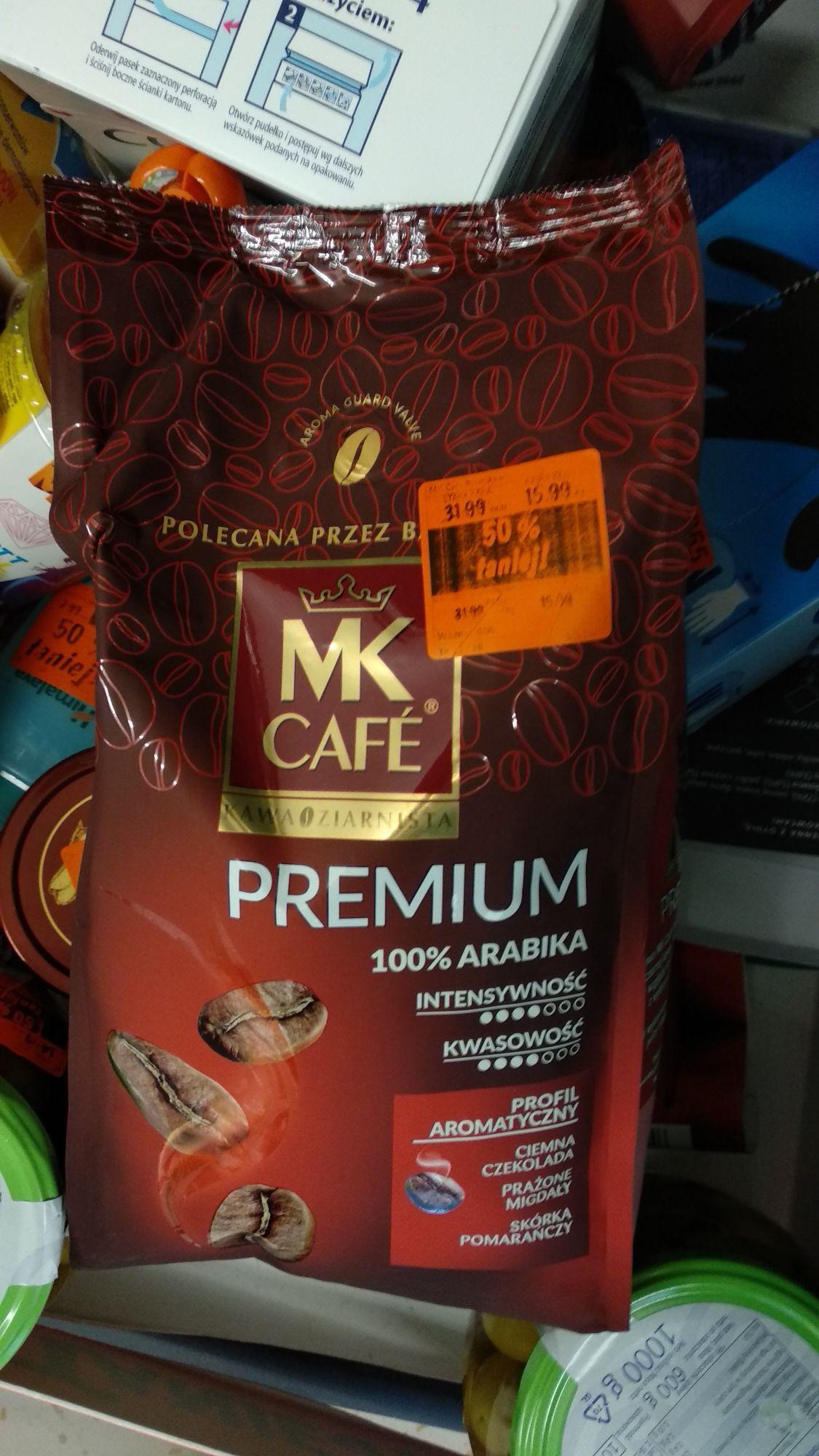 Mk cafe premium kawa ziarnista 1kg Lidl Szczecin Witkiewicza