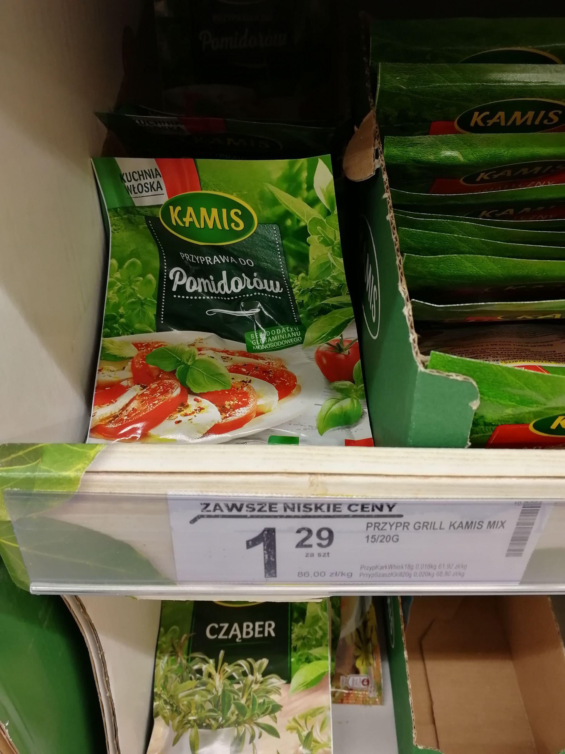 Przyprawa do pomidorów Kamis Biedronka