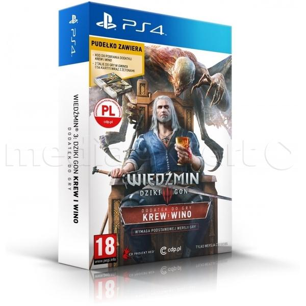 Wiedźmin 3 Krew i Wino Edycja limitowana na PS4 za 54,99 zł