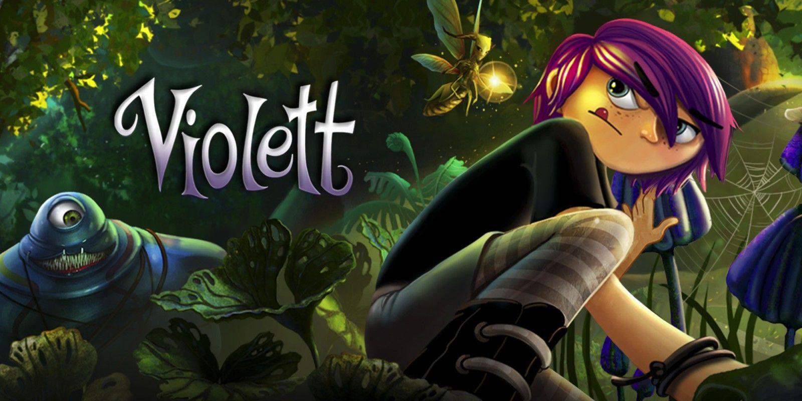 Violett NINTENDO SWITCH z Nintendo EShop